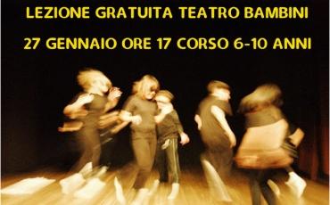 Teatro Bambini – Lazione di prova gratuita